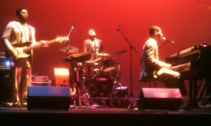 (From left to right) Barry Stephenson , Joe Saylor, and Jon Batiste